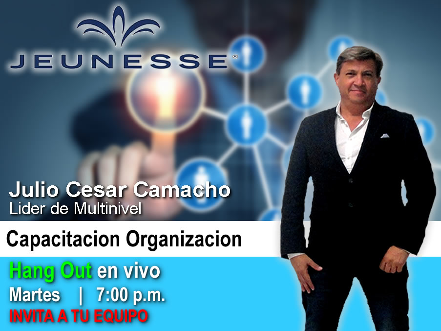 Hang Outs en Vivo Jeunesse